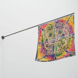 Koi Persyn: 'Janus Flags (1) Medusa & Daphne' (2020)