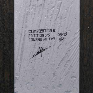 Conrad Willems: 'Composition II' (2019)