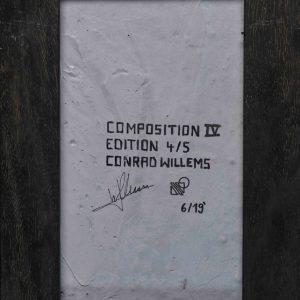 Conrad Willems: 'Composition IV' (2019)