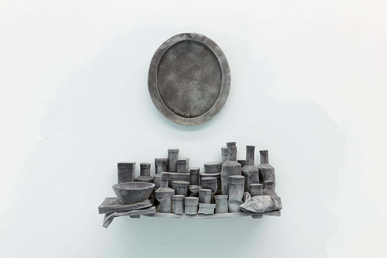 2.-Johan-De-Wit,-Untitled,-2020,-paper,-resins,-iron-powder,-pigments,-65-x-62-x-22-cm-_-Kristof-De-Clercq-gallery-_-JDW405-_-We-Document-Art-_-web