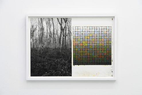 STIJN COLE, Souvenir - Lompret 21_12_2019 13h42, 2019, Oil on inkjetprint, 33,2 x 45,8 cm (framed)